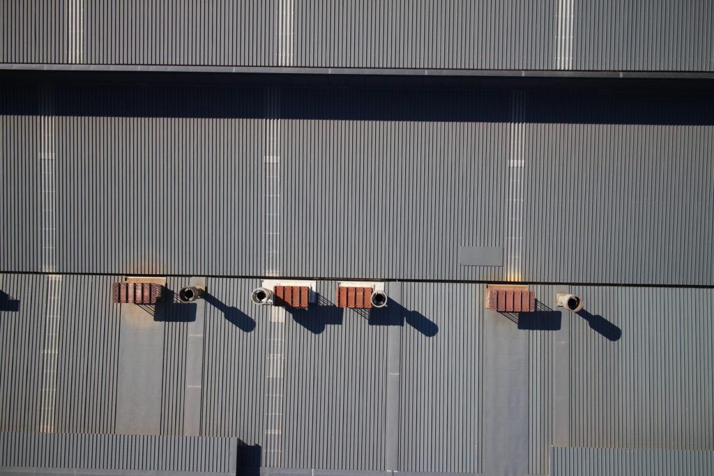 drone ispezione tetto industria