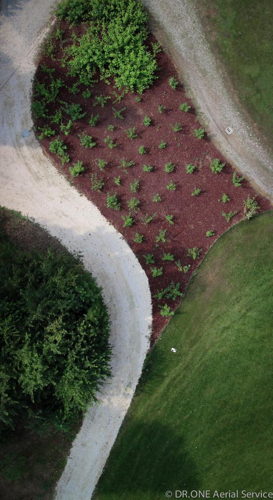 drone fotografia villa