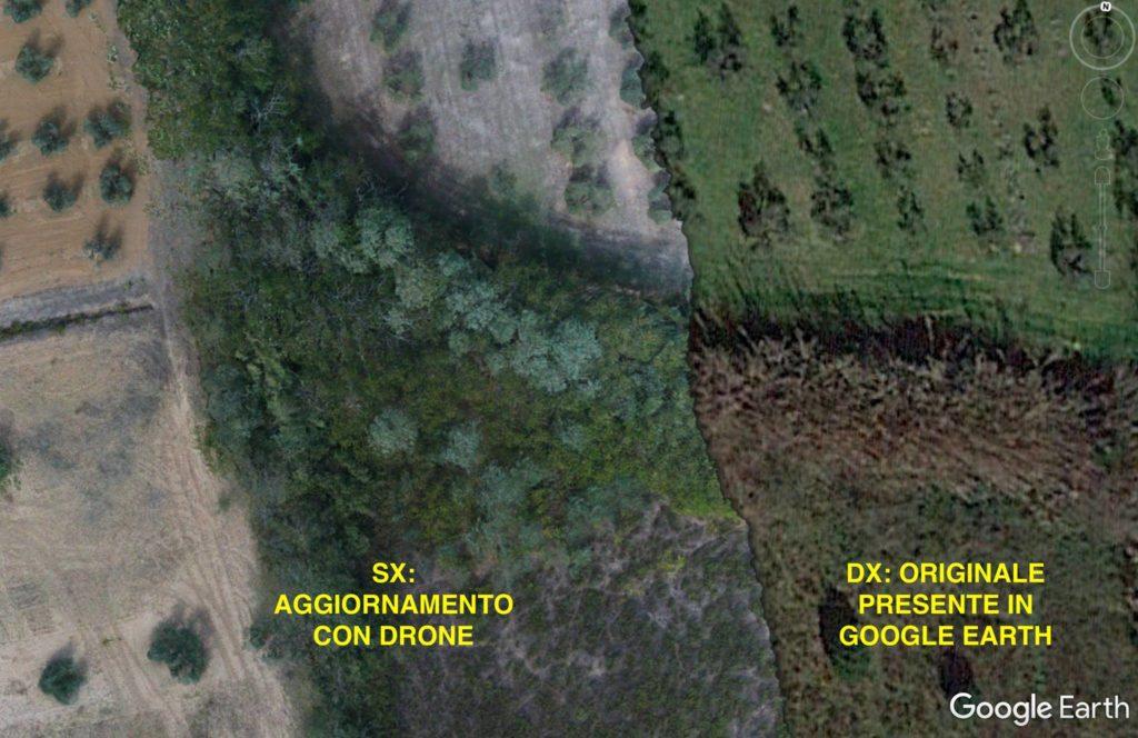 dettaglio rilievo risoluzione mappatura drone