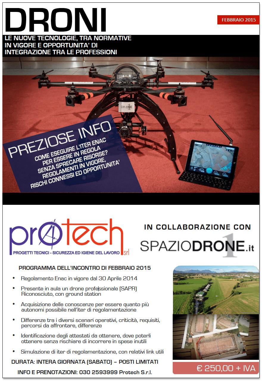 corso brescia droni