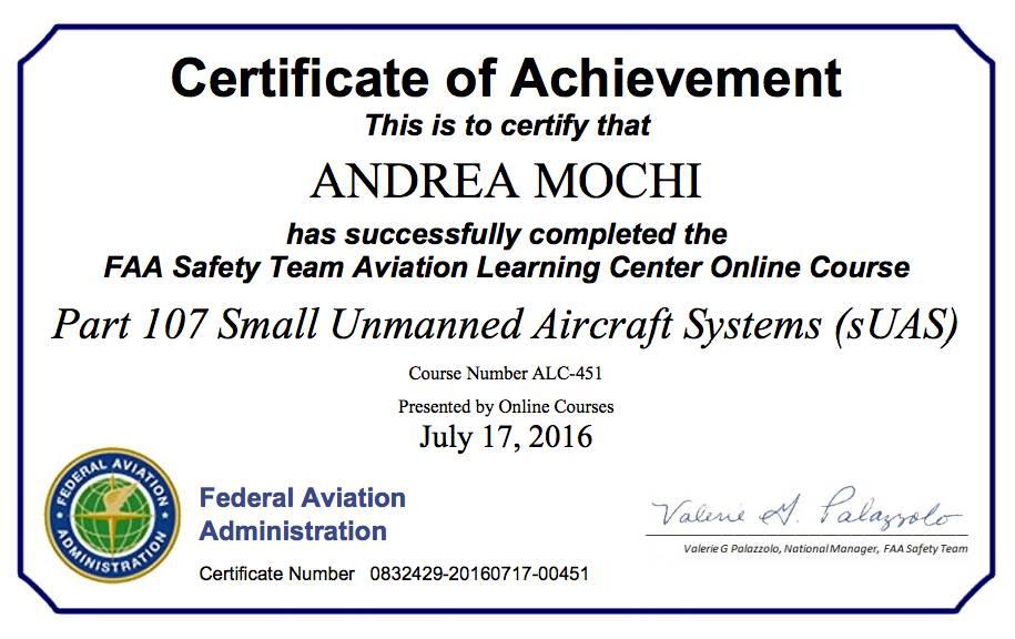 FAA DRONE PILOT